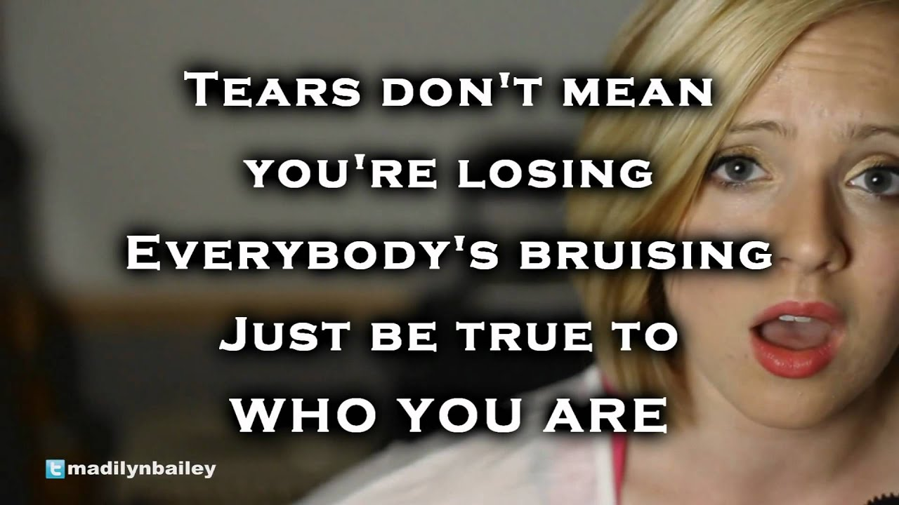 Who You Are Madilyn Bailey Download M4a Mp3