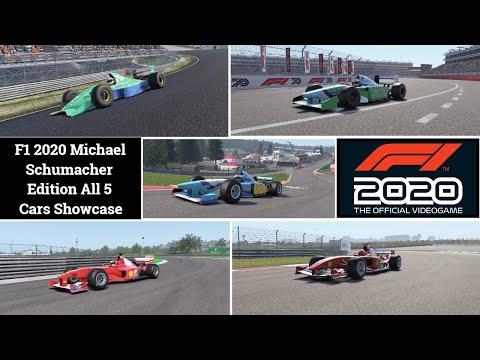 F1 2020 Michael Schumacher Edition All 5 Cars Showcase |