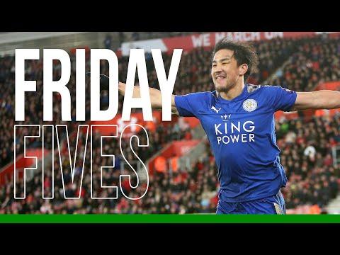 Friday Fives: Shinji Okazaki