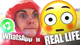 WHATSAPP in REAL LIFE! | junggesellen