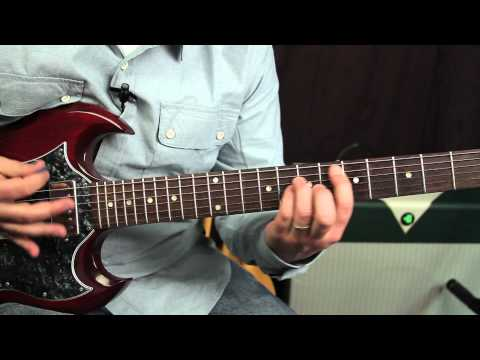 (Guitar Lessons) Green Day - When I Come Around - How to Play on Guitar - Tutorial