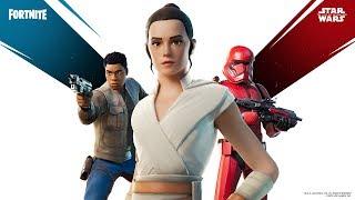 Evento Star Wars Fortnite con Logan