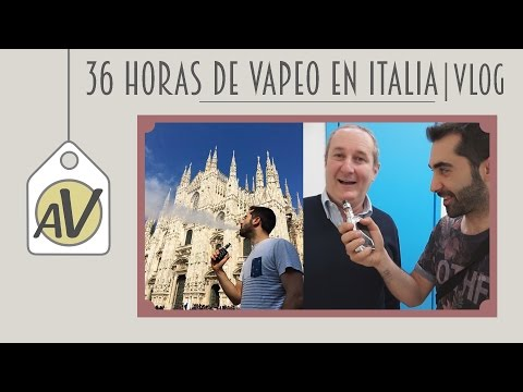 36 HORAS DE VAPEO EN ITALIA || VLOG