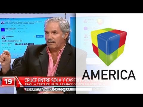 Felipe Solá habló del insólito cruce tuitero con Alfredo Casero