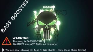 Tyga ft. Wiz Khalifa - Molly BASS BOOSTED