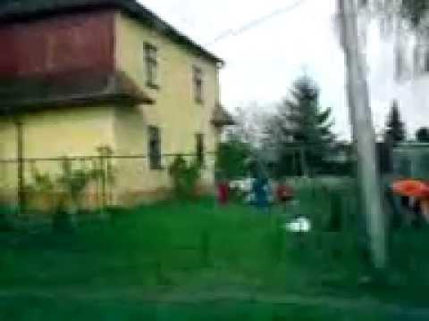Dzielnica Cyganów w Karvinie. Gypsies district in Karvina.