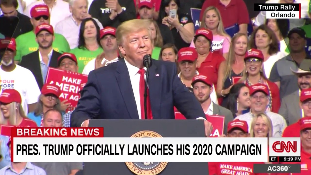 Trump Supports Chant