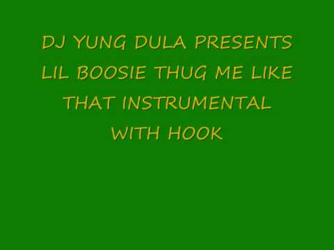 Lil Boosie- Thug me like that instrumental (with hook)