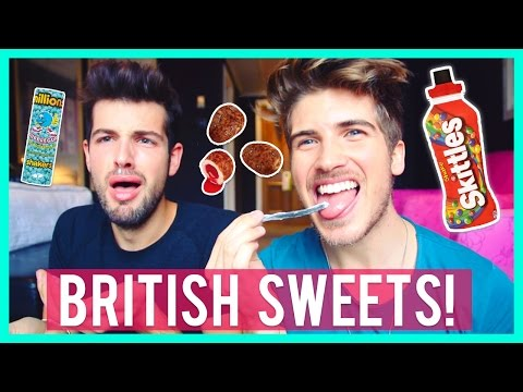 Thumbnail: AMERICAN BOYS TRY BRITISH CANDY!