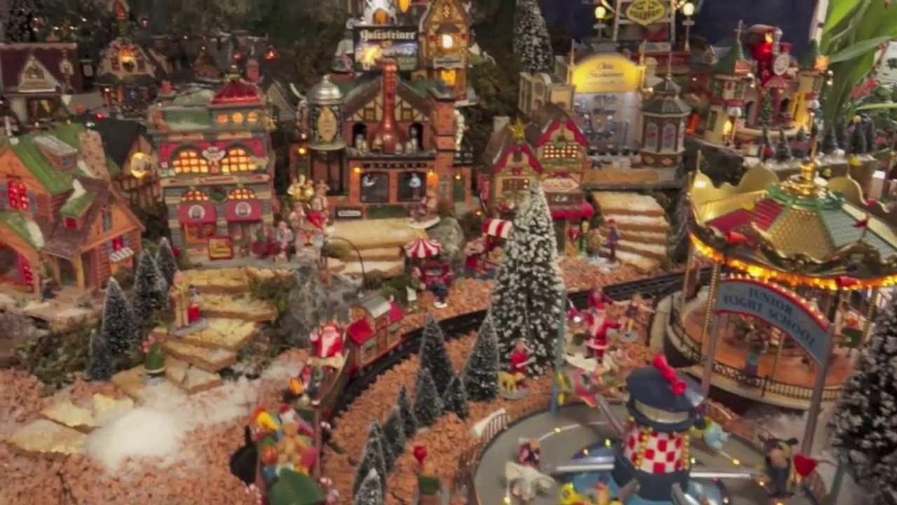 Il villaggio di Natale di Nicora Garden  YouTube