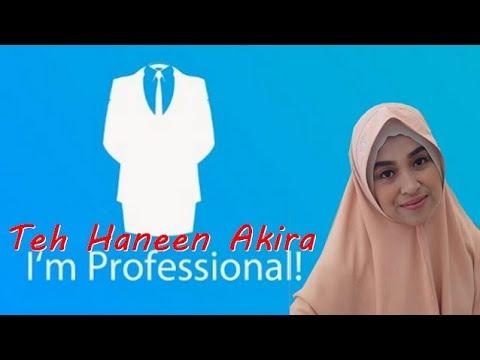 Teh Haneen Akira - The Proffesional -Istri Ustadz Hanan Ataki