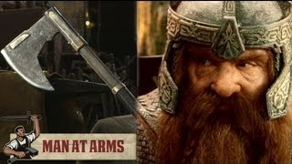 Baixar Gimli's Bearded Axe (Lord of the Rings) - MAN AT ARMS