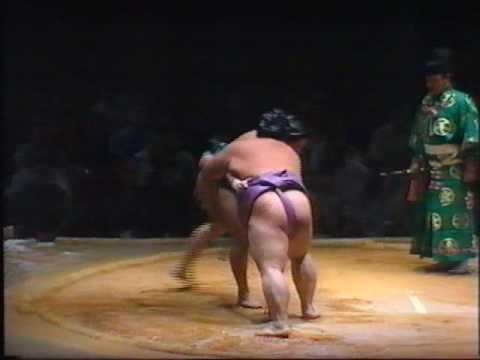 Sumo: Terao v Kotogaume 1991 (London)