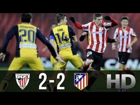 Athletic Bilbao Vs Atletico Madrid   All Goals Highlights
