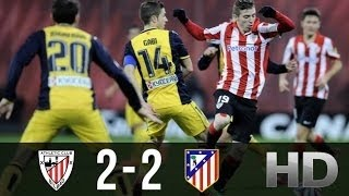 Athletic Bilbao vs Atletico Madrid 2-2 All Goals & Highlights