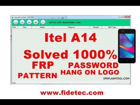 ITEL A14 Firmware 100% Tested | FRP Reset - Fidetec