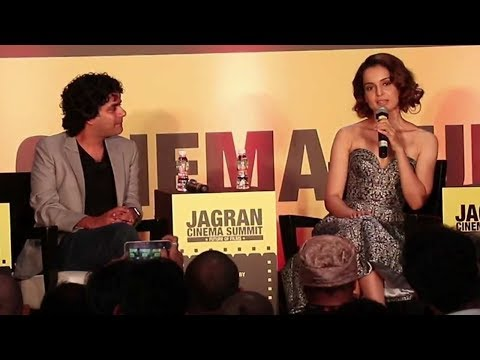 Kangana Ranaut At Jagran Film Festival Panel Discussion For Future Of Cinema