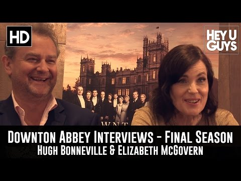 Hugh Bonneville & Elizabeth McGovern Exclusive   Downton Abbey