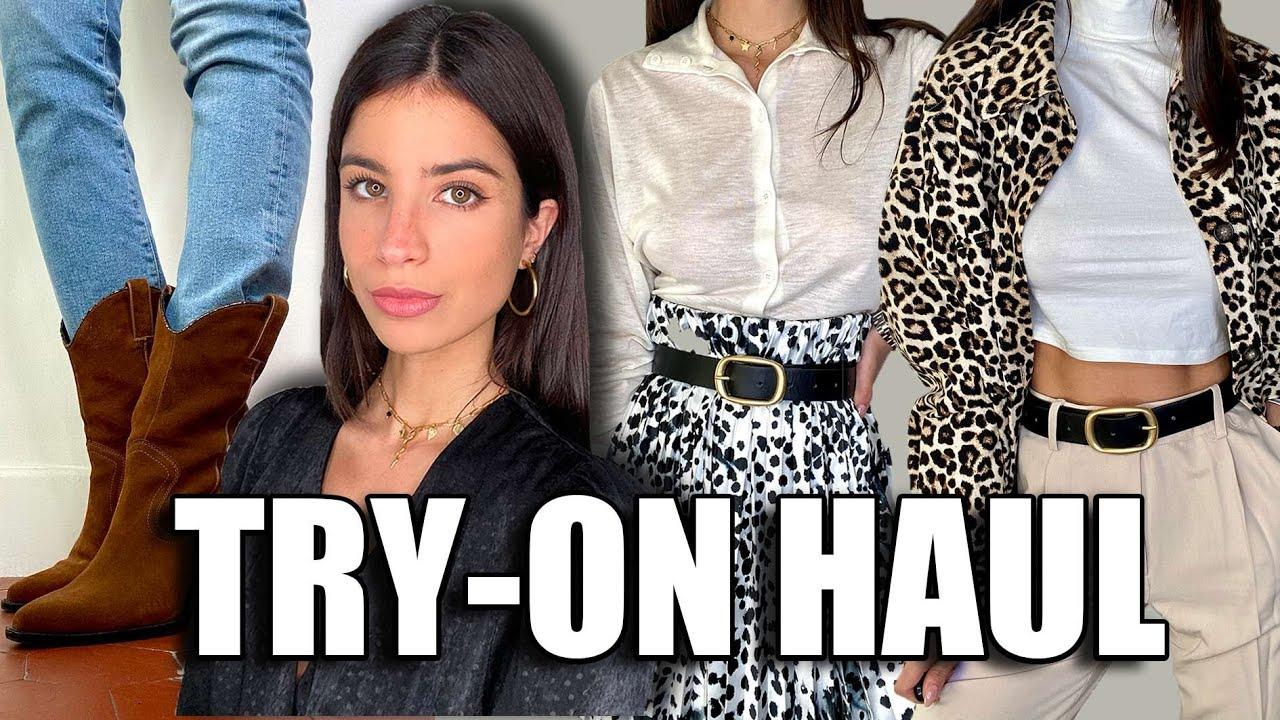 TRY-ON HAUL | Zara, H&M, Vintage