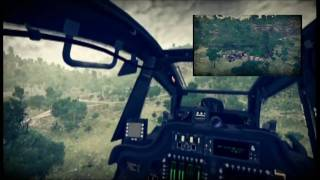 XBOX 360 - Apache Air Assault - gameplay in freeflight