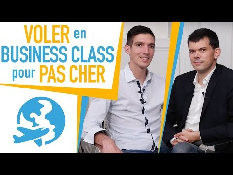 Comment VOLER en BUSINESS CLASS au PRIX de l'ÉCO ? Guillaume SCHAER