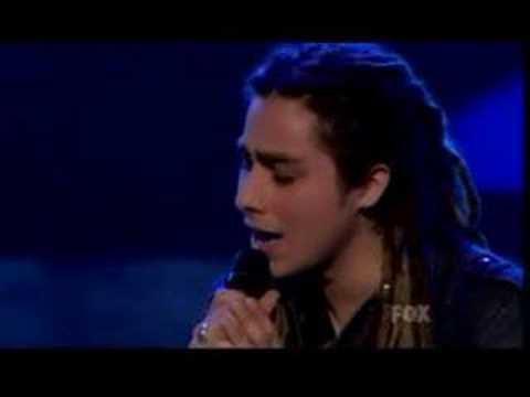 """Jason Castro- Top 7 """"I don't wanna cry"""" performance"""