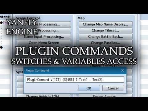 Plugin Commands - Switches & Variables Access (YEP) - Yanfly moe Wiki