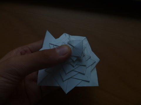 Origami Curlicue Youtube