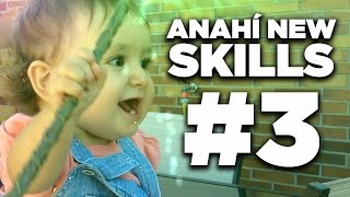 Action Movie Baby - Anahí New Skills #3 (Baby making magical toys)