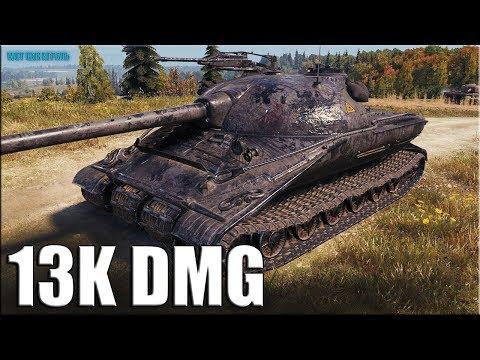 13к урона за 8 минут ✅ World of Tanks рекорд по урону Объект 279 (р)