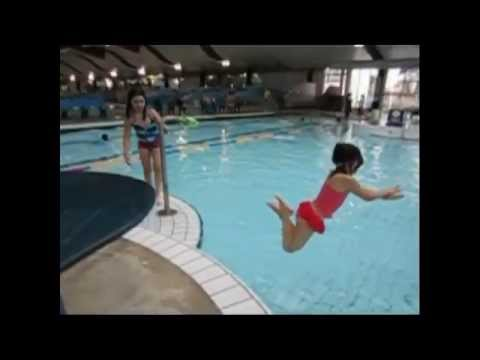swimming pool kids slow motion youtube