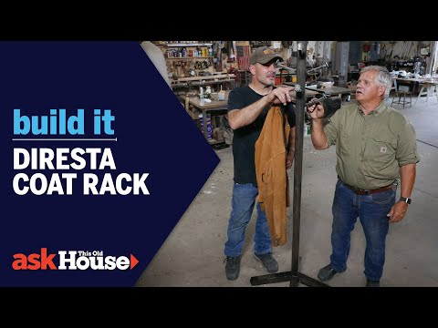 Metal Coat Rack With Jimmy DiResta | Build It | Ask This Old House