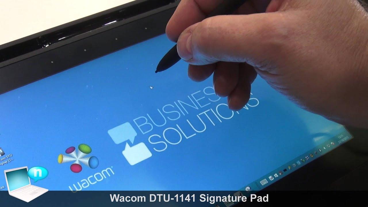 Wacom DTU-1141 Signature Pad