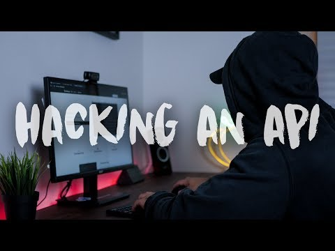 Hacking/Reverse Engineering A PRIVATE Api