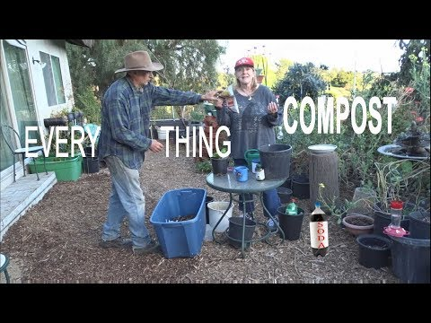 EASY COMPOST in PLACE EVERYTHING Create Rich Garden Nutrient Soil Dump & Grow