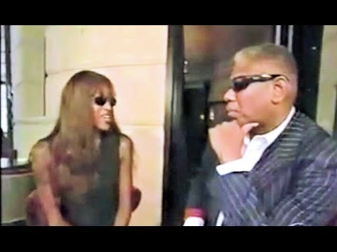 Talley interviewing the supermodelNaomi Campbellin the '90s