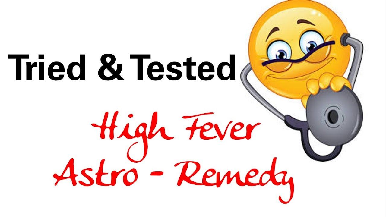 High Fever – Astro  Remedy