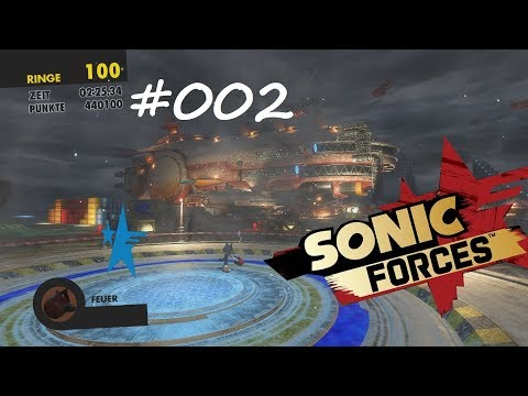 SONIC FORCES #002 - LEVEL 2 chemical plant spaceport ° Let's Play [GERMAN]