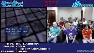 Castlevania 64 (Carrie) by NarcissaWright in 52:11 - SGDQ 2013