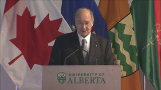 Aga Khan Garden Edmonton Inauguration