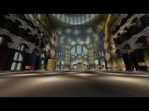 Minecraft - Hagia Sophia Preview (Incomplete Version).