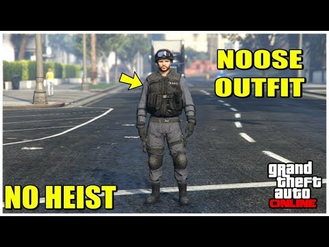 GTA Online: How To Save (N.O.O.S.E OUTFIT) Easy!!!PS4 ONLY
