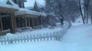 36 inches or snow south bend Indiana 1/8/11