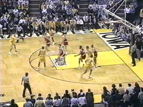 Indiana  at Iowa - 1/11/94 (radio)