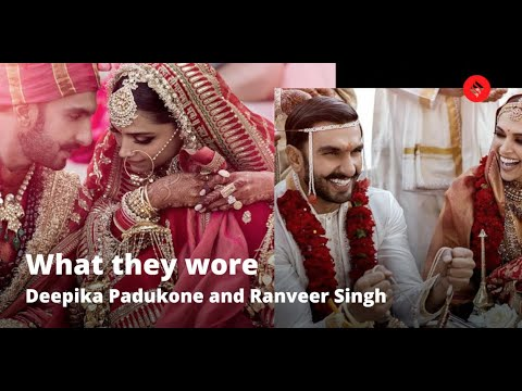 Deepika Padukone and Ranveer Singh Wedding: What they wore