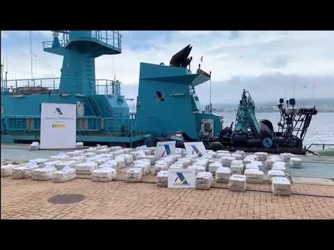 Los 2.500 kilos de cocaína del Gure Leire ya están en Vigo