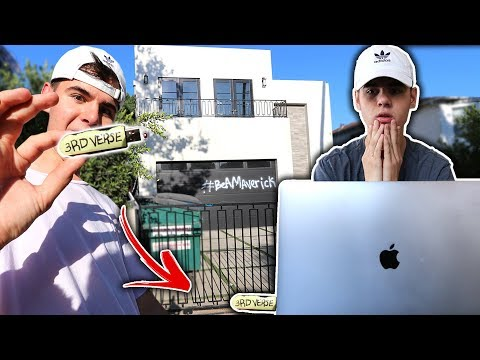 LOOK WHAT I FOUND IN JAKE PAULS HOUSE... (Secret) | David Vlas
