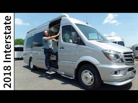2018 Airstream Interstate Model Year Improvements Extended Lounge Mercedes Benz Sprinter