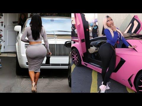 Kim Kardashian's Cars VS Nicki Minaj's Cars ★ 2018