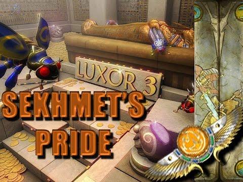 Luxor 3 Walkthrough - Sekhmet's Pride